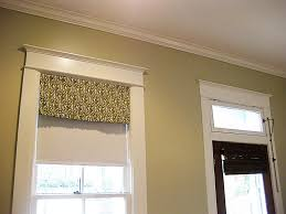 simple valance on a tension rod for the home pinterest kitchen window valances with roller blind beneath