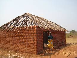 making a house making a house a home in makwatata a village in africa