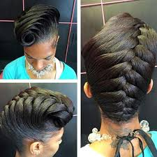 pictures of french rolls hairstyles for black women 2015 50 cute updos for natural hair