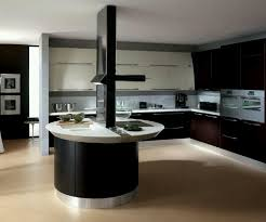 brown and black kitchens nice home design