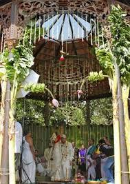 Malayalee Wedding Decorations Kerala Wedding Entrance Banana And Coconut Decoration Google