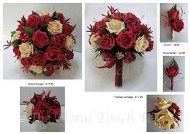 Red Rose Wrist Corsage The Floral Touch Uk Com Wrist Corsages Prom Corsage Wrist