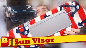 Custom Car Flag How To Custom Sun Visor Youtube