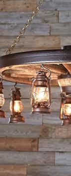 Wagon Wheel Lighting Fixtures Rustic Lighting Fixtures A Log Cabin Store Wagon Wheels