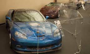 national corvette museum sinkhole corvette museum considers leaving sinkhole cars on permanent