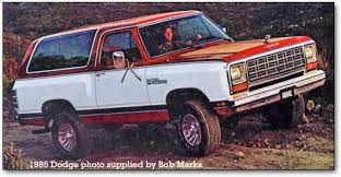 1985 dodge ram truck dodge ramcharger trucks 1974 1993