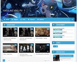 templates v1 blogger hatsune miku pv blogger template v1 1 btemplates