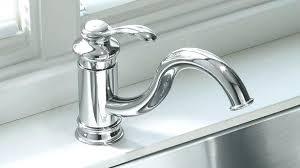 kohler fairfax kitchen faucet kohler faucet k 12175 bn fairfax vibrant brushed nickel one handle