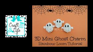craft life 3d mini halloween ghost charm tutorial on one rainbow