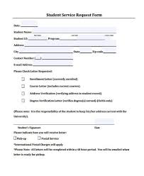student request form 16 recommendation letter templates in doc