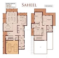 arabian ranches floor plans villa for sale in type 7 saheel 3 arabian ranches saheel
