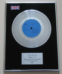 coldplay what if coldplay what if platinum single presentation disc