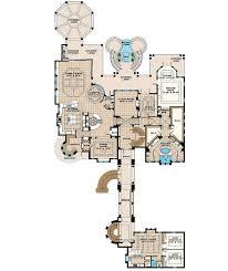 plan 66380we grand mediterrean estate house plan sitting area