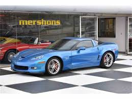 2008 chevrolet corvette z06 for sale classiccars com cc 981867