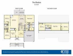 5 room floor plan bladen caviness and cates builders