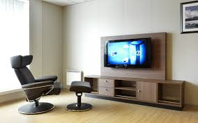 Wall Mount Tv Furniture Design Interior Classy Decoration Interior Room Using Dark Cherry Wood