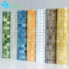 home decoration waterproof wallpaper for bathroom wall golden