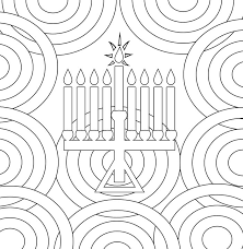 hanukkah coloring page smile will save the day hanukkah coloring pages