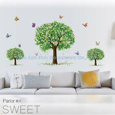 Home Decor On Sale Clearance Aliexpress Com Buy Clearance Sale 3d Trees Butterfly Wall