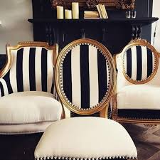 Black And White Striped Dining Chair Striped Furniture Home Design Ideas And Pictures