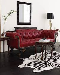 Leather Sofa Loveseat by Best 25 Red Leather Sofas Ideas On Pinterest Red Leather