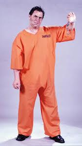 prison jumpsuit costume cut orange prisoner jumpsuit deluxe plus size costume