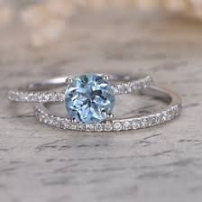 aquamarine wedding rings aquamarine wedding ideas collections