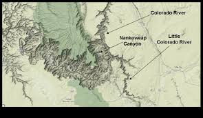 Colorado River Map by The Mathisen Corollary The Geology Of The Little Colorado River Gorge