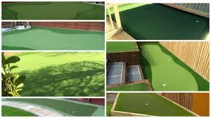 diy back yard putting green photo on marvellous diy backyard