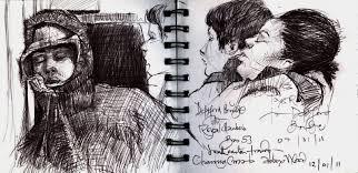urban sketchers london march 2012