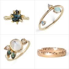 unique engagement ring unique engagement rings popsugar fashion