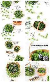 easter basket grass easter basket grass diy tutorial diy home tutorials