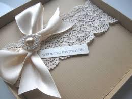 Wedding Invitations Box Luxury Vintage Themed Wedding Invitation Guipure Lace Pearl