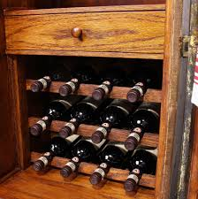 wine bar cabinet vintage steamer trunk wine bar cabinet fatto a