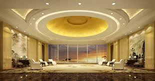 3d antechamber with round false ceiling cgtrader