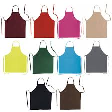 ebuygb cotton kitchen apron chef cooking apron with front pocket
