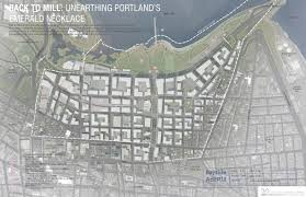 Portland City Maps by Bayside Adapts Design Challenge Portland Me
