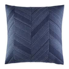 Navy Blue Decorative Pillows Buy Navy Blue Decorative Pillow Bedding From Bed Bath U0026 Beyond