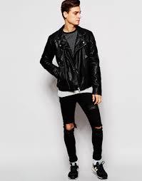 leather biker jacket image 4 of esprit faux leather biker jacket leather jacket