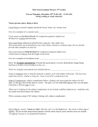 Intensive And Reflexive Pronouns Worksheet Grammar Review Immaculate Conception