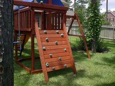 Backyard Swing Set Plans by A U0026l Deluxe Playset Wooden Swing Set Products Pinterest
