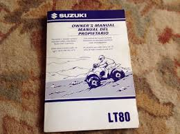 suzuki lt80 quad bike owner manual u2022 20 00 picclick uk