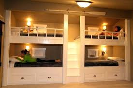Four Bunk Bed Four Bunk Beds View In Gallery Contemporary Bunk Beds For Four