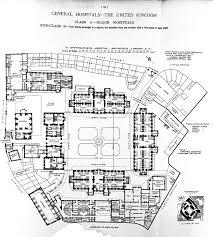 Floor Plan Hospital File Plan Of St Bartholomew U0027s Hospital London 1893 Wellcome