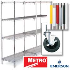Metro Wire Shelving by Metro Wire Shelving Metro Super Erecta Wire Shelves Super