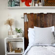 diy pallet headboard u2013 ricedesigns