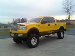 Ford F 150 Yellow Truck - leviblue 2004 ford f150 regular cab specs photos modification