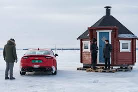 nissan 370z in winter 2018 kia stinger gt winter drive motor trend