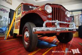 custom willys jeepster 2016 sema omix ada willys jeep station wagon