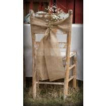 burlap chair covers burlap chair covers and sashes available in burlap jute